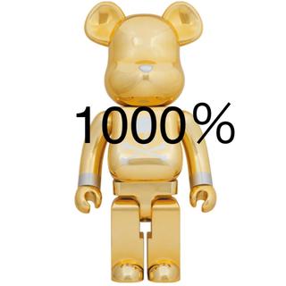 メディコムトイ(MEDICOM TOY)のBE@RBRICK mastermind JAPAN GOLD 1000% (その他)