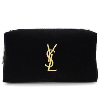 Yves Saint Laurent Beaute - YSL メイクポーチ 黒