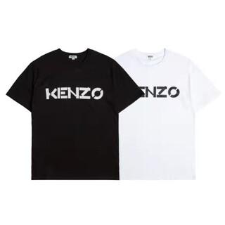 KENZO - 2枚8000円送料込み KENZO ロゴ付き Tシャツ タグ付き新品 黒白