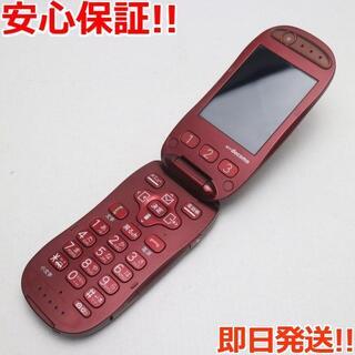 フジツウ(富士通)の中古 F-07A レッド(携帯電話本体)