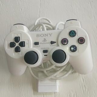 プレイステーション2(PlayStation2)の😎プレイステーション2😎のコントローラーホワイト(家庭用ゲーム機本体)
