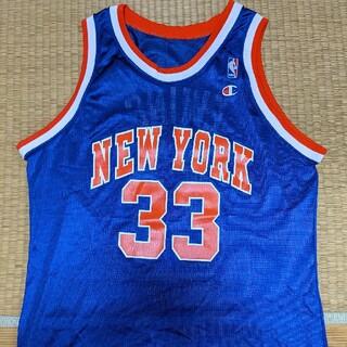 Champion - NBA ユーイングニューヨークニックスユニフォーム