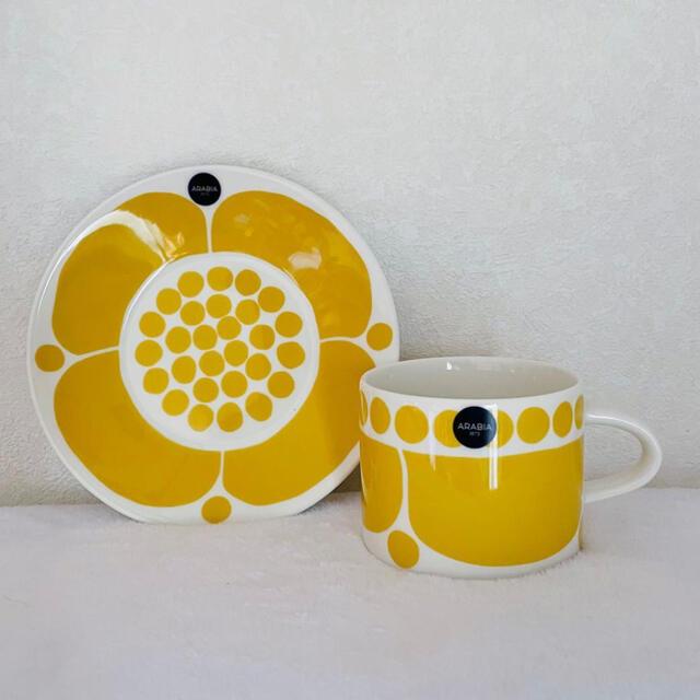 ARABIA(アラビア)のアラビア スンヌンタイ ティーカップ&ソーサー インテリア/住まい/日用品のキッチン/食器(食器)の商品写真