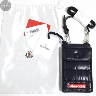 MONCLER - 新品 MONCLER ボックスロゴ フォン ケース ショルダー ポーチ バッグ