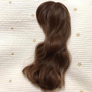 ナバーナウィッグ(NAVANA WIG)のナバーナウィッグ 前髪 茶髪 レディース  コスプレ ロングカール(ロングカール)