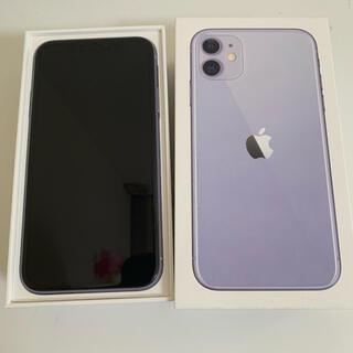 Apple - iPhone11 64ギガ パープル