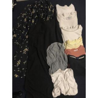 ユニクロ(UNIQLO)のレディース トップス ワンピース まとめ売り(Tシャツ(半袖/袖なし))