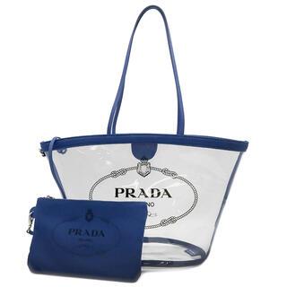 PRADA - プラダ  トートバッグ  プレックス カナパ クリアバッグ  1BG16