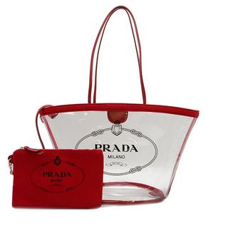 プラダ(PRADA)のプラダ  トートバッグ  プレックス カナパ クリアバッグ  1BG16(トートバッグ)