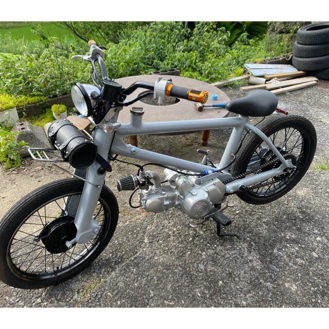ホンダ(ホンダ)の値下げホンダ スーパーカブ チャリカブ 実働です♪ 自動車/バイクのバイク(車体)の商品写真