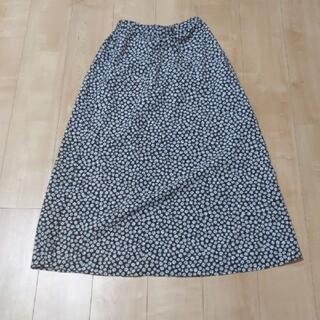 グローバルワーク(GLOBAL WORK)の花柄スカート(ロングスカート)