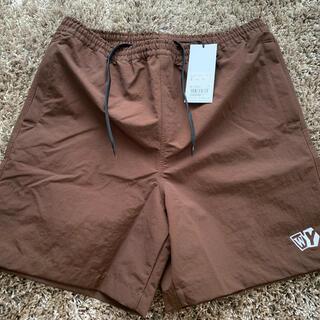 wasted youth water shorts ショーツ ブラウン L