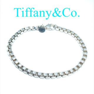 Tiffany & Co. - ティファニー ベネチアンチェーン ブレスレット 925 19cm メンズ 現行品