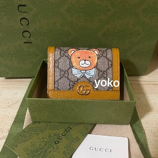 Gucci - KAI GUCCI EXO コラボ テディベア 財布