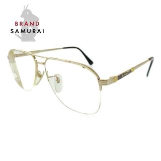 バーバリー(BURBERRY)のバーバリー ゴールド ステンレススチール メガネ レディース 104800(サングラス/メガネ)