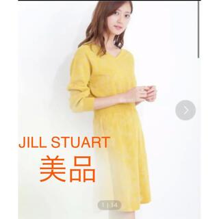 JILLSTUART - ジルスチュアート 美品 ニットワンピ  イエロー