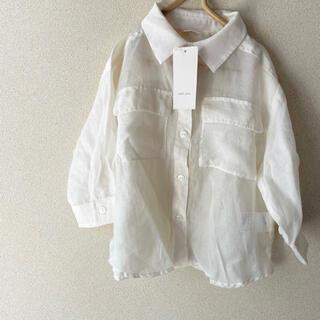 petit main - プティマインシアーシャツ sサイズ♡
