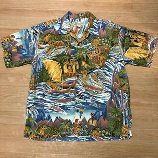 パタゴニア(patagonia)の美品 pataloha 2004 Limited edition メニュー柄 L(シャツ)