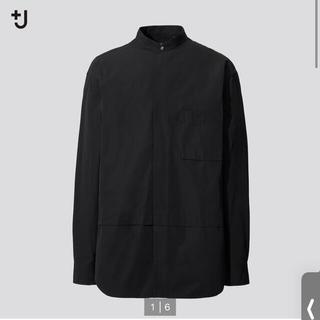 UNIQLO - ユニクロ +J スーピマコットンシャツ 長袖