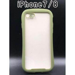 iPhone7/8/SE2 シンプル スマホケース 韓国 人気 カーキ F
