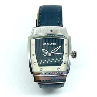 Hamilton - ☆社外製ベルト☆ ハミルトン レディース 腕時計 エベレスト ネイビー