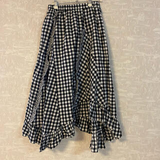 merry jenny - merry jenny ギンガムチェック スカート