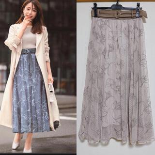 Rirandture - ⭐️美品⭐️リランドチュール✨ NEWドローイング刺繍チュールスカート