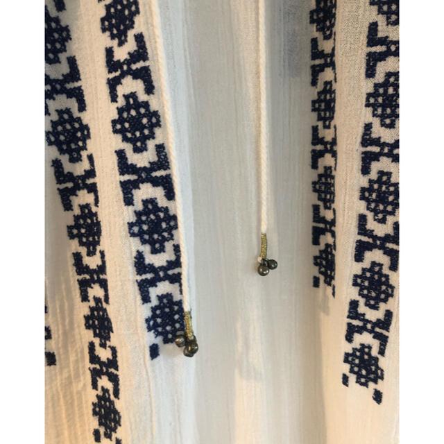 Ron Herman(ロンハーマン)のロンハーマン 刺繍インド綿ワンピース レディースのワンピース(ロングワンピース/マキシワンピース)の商品写真