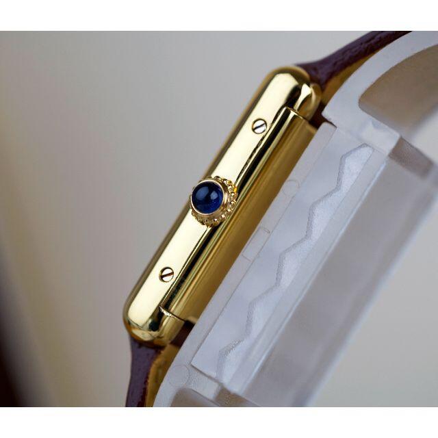 Cartier(カルティエ)の美品 カルティエ マスト タンク アイボリー ローマン 手巻き SM  レディースのファッション小物(腕時計)の商品写真