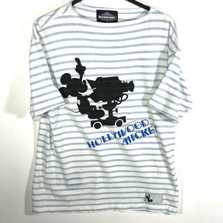 Disney - 90s USA製ハリウッドミッキー 古着 Tシャツ