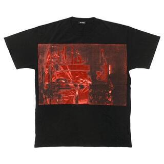 ラフシモンズ(RAF SIMONS)の●ラフシモンズ Tシャツ 181-122-00099-19000 ブラック S(Tシャツ/カットソー(半袖/袖なし))