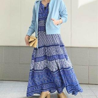 L'Appartement DEUXIEME CLASSE - 新品BLUE BOHEME/ブルー ボヘム】Printed Long Dress