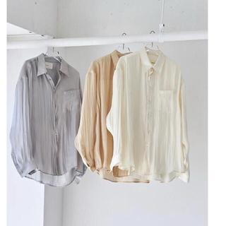 トゥデイフル(TODAYFUL)のTODAYFUL Crepesatin Over Shirts(シャツ/ブラウス(長袖/七分))