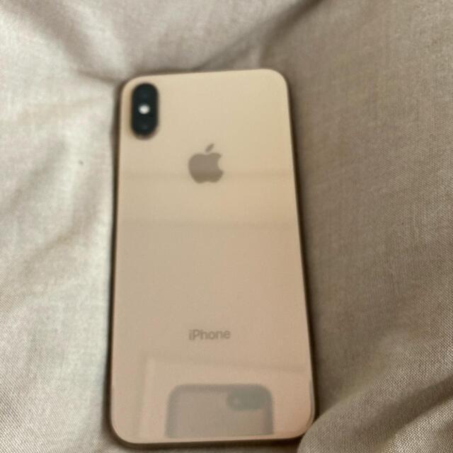 iPhone(アイフォーン)のSIMフリー iPhoneXS 64GB ゴールド スマホ/家電/カメラのスマートフォン/携帯電話(スマートフォン本体)の商品写真