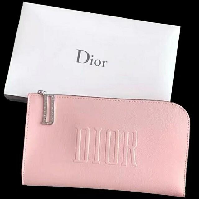 Christian Dior(クリスチャンディオール)のディオール メイクポーチ ピンク レディースのファッション小物(ポーチ)の商品写真