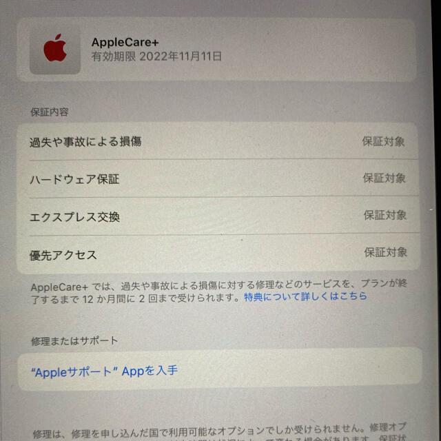 Apple(アップル)のiPad Pro 11インチ 128g 第二世代 Wi-Fi スマホ/家電/カメラのPC/タブレット(タブレット)の商品写真