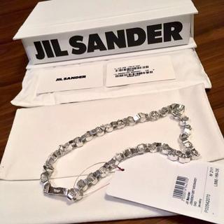 Jil Sander - 新品正規品 JIL SANDER 21SS ジオメトリー チェーン ネックレス