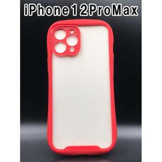 iPhone12ProMax ケース シンプル スマホ 韓国 人気 赤 F