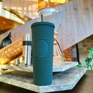スターバックスコーヒー(Starbucks Coffee)のフローテッドグリーン Starbucks スタバ タンブラー スタッズ スタッド(タンブラー)