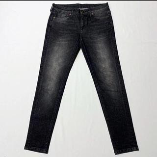 ムジルシリョウヒン(MUJI (無印良品))の無印良品 スーパーストレッチスキニーデニム 24サイズ 61センチ 黒(デニム/ジーンズ)