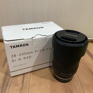 タムロン(TAMRON)のタムロン 28-200mm f/2.8-5.6 di iii rxd(レンズ(ズーム))