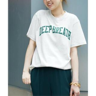 ドゥーズィエムクラス(DEUXIEME CLASSE)の【SKIN/スキン】 DEEP BREATH Tシャツ(Tシャツ(半袖/袖なし))