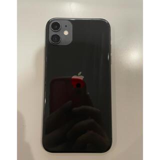 iPhone - iPhone 11 ブラック 64 GB Simフリーバッテリー94%訳あり
