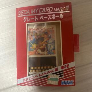 セガ(SEGA)のセガ マイカード マーク III(家庭用ゲームソフト)