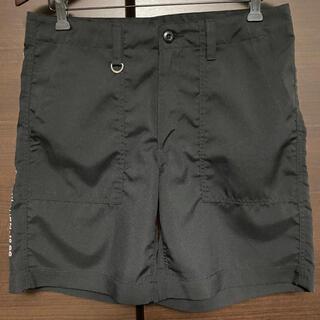 ユニフォームエクスペリメント(uniform experiment)のuniform experiment ハーフパンツ ブラック 2 パンツ(ショートパンツ)