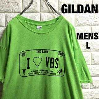 ギルタン(GILDAN)のアメリカ古着 ギルダン BMX  スケボー  プリントTシャツ メンズLサイズ(Tシャツ/カットソー(半袖/袖なし))