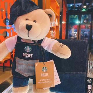 スターバックスコーヒー(Starbucks Coffee)のStarbucks x Diesel スタバ ディーゼル ベアリスタ 海外限定(ぬいぐるみ)
