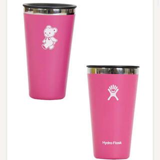 ファミリア(familiar)のfamiliar ファミリア  ハイドロフラスク タンブラー ピンク 新品未使用(タンブラー)