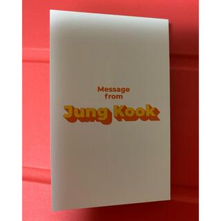 防弾少年団(BTS) - BTS butter ジョングク メッセージカード