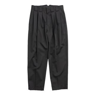 アンユーズド(UNUSED)のstein double wide trousers(スラックス)